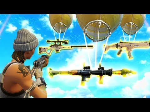 LEGENDARY WEAPON HUNTING! (Fortnite Battle Royale)