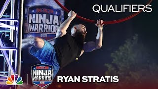 Ryan Stratis at the Miami City Qualifiers - American Ninja Warrior 2018