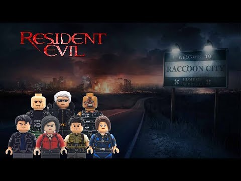 LEGO Resident Evil Custom Minifigures Collection Series One