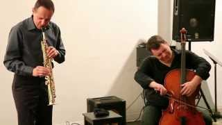 Gianni Mimmo & Daniel Levin - Arts For Art / Evolving Music Series, NYC - May 14 2012