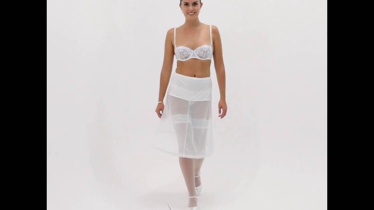 jupon mariage robe courte 1 cerceau circonfrence 180cm mathilde - Jupon Mariage 1 Cerceau