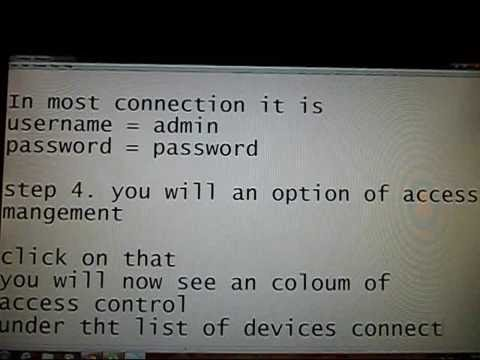 How to find  out if someone is hacking your wifi and How to  block that device   Computer Support  