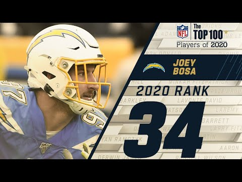 #34: Joey Bosa (DE, Chargers) | Top 100 NFL Players of 2020