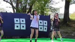 丸亀城イベントできみともキャンディがミニライブを開催素敵な唄と踊り...