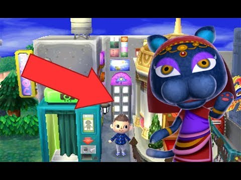 acnl comment avoir le magasin derri re la poubelle bleue youtube. Black Bedroom Furniture Sets. Home Design Ideas