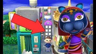 [ACNL] Comment avoir le magasin derrière la poubelle bleue