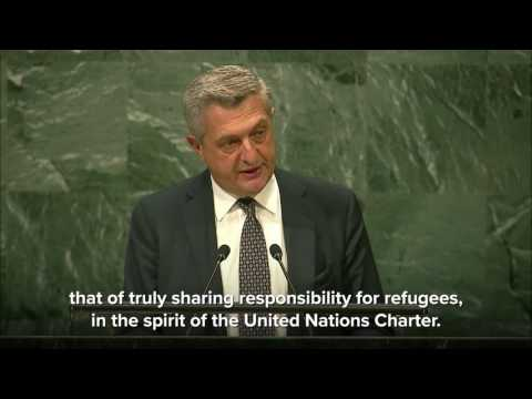 High Commissioner for Refugees addresses the Summit on Refugees and Migrants