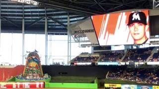 【MLB】 MIA-NYM スタメン発表 (2016/07/24 Marlins Park)