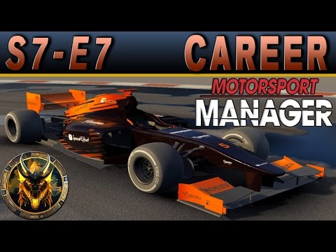 Motorsport Manager PC Career Mode S7E7 - NEW QUALIFYING STRATEGY