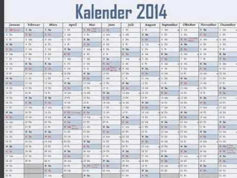 Kalender 2017 Youtube
