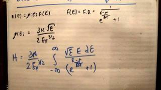 Quantum Physics 33 d : The Total Electronic Energy Contribution