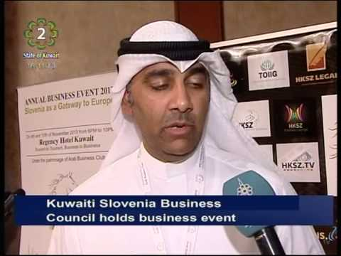 Kuwaiti Slovenia Business Council hold 1st Annual Business Event