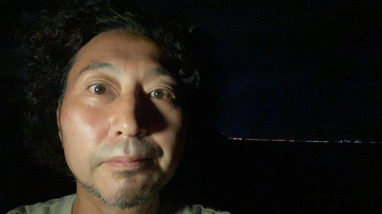 【ライブ】バシリゾ🏖3 夜光虫見れるかな?#湘南#茅ヶ崎#イシバシハザマ石橋