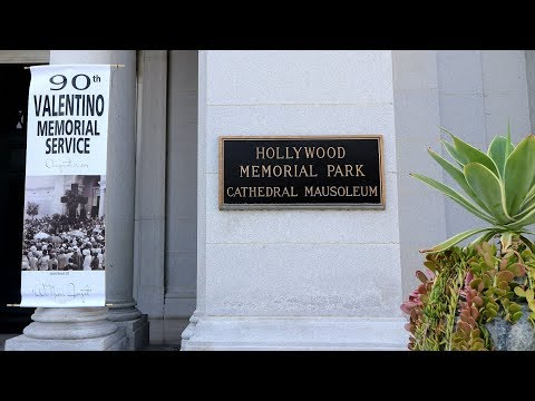 #383 (8/24/2017) Rudolph Valentino 90th Memorial Service in Hollywood