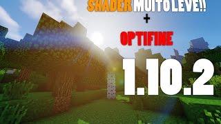 ◤SHADER MAIS LEVE PARA MINECRAFT 1.10.2◥ - Minecraft