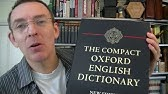 5 - Reading with the Oxford English Dictionary - YouTube