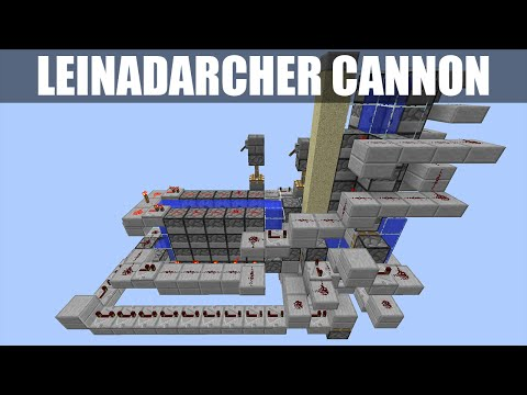 Minecraft: Compact Leinadarcher Cannon [1.8.8 & 1.8.9 Only] [Can Do Everything!] [Tutorial]
