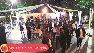 "Goan Band ""K7"" Sky Full Of Stars - Coldplay (Crowd Response - Live @The Emrald Lawns Parra Goa)"
