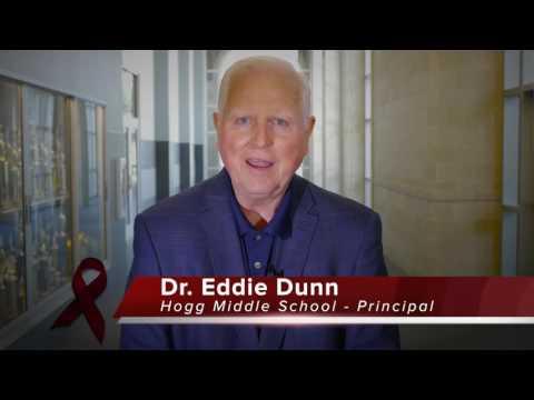 RED RIBBON WEEK Hogg MS - Dr. Eddie Dunn