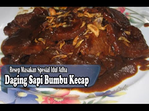 Resep Mudah Membuat Daging Sapi Bumbu Kecap Manis Resep Masakan