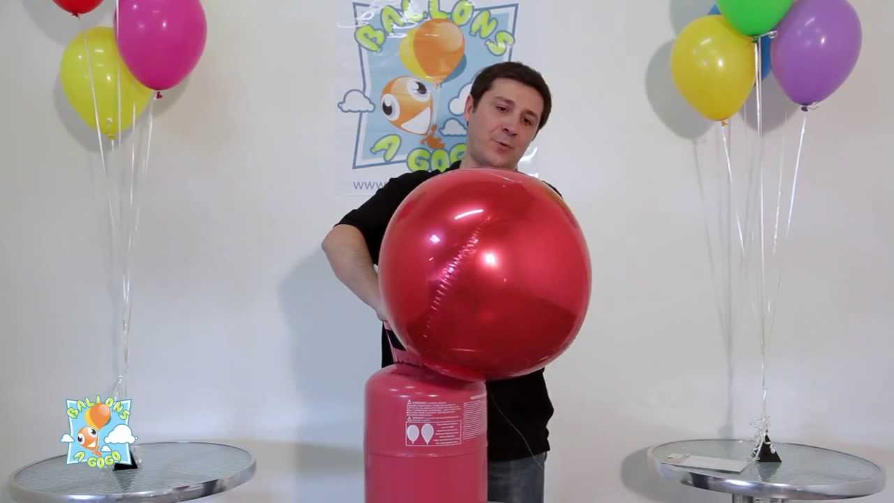 Ballon sph rique miroir youtube for Miroir spherique