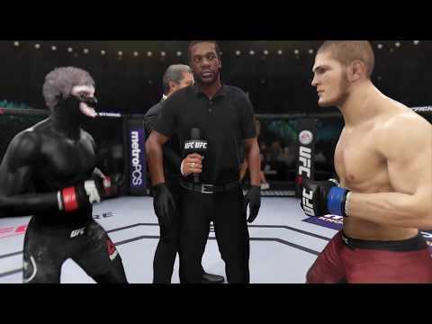 Ken Kaneki Vs. Khabib Nurmagomedov (EA Sport UFC 3)