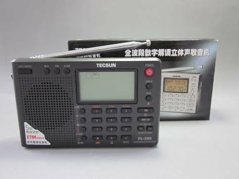 Top Ten Favorite Shortwave Portable Receivers Tecsun PL380 DSP Digital PLL LW  AM FM SW Radio