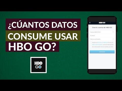 Cuantos Datos o Megas Consume HBO