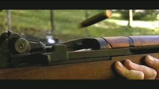 M1 Garand firing & clip ejection- high speed camera-600fps slow motion