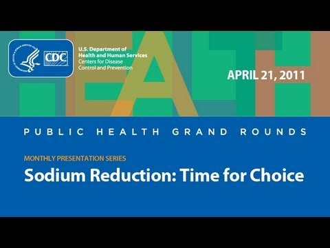 Sodium Reduction: Time for Choice