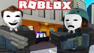 BANK HEIST IN ROBLOX - France Notoriety Roblox Roleplay