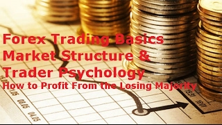Learn Forex Basics - FX Market Structure & Trader Psychology How to Make Money