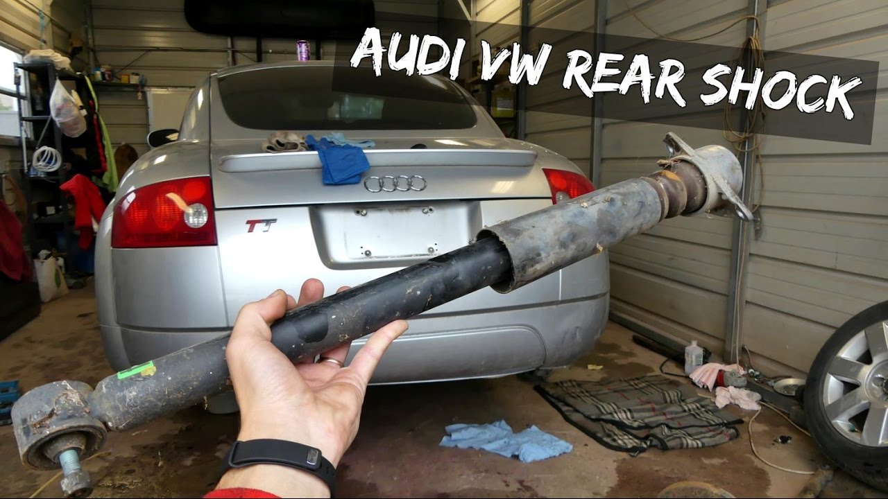2003 audi a4 shock absorber and strut assembly manual