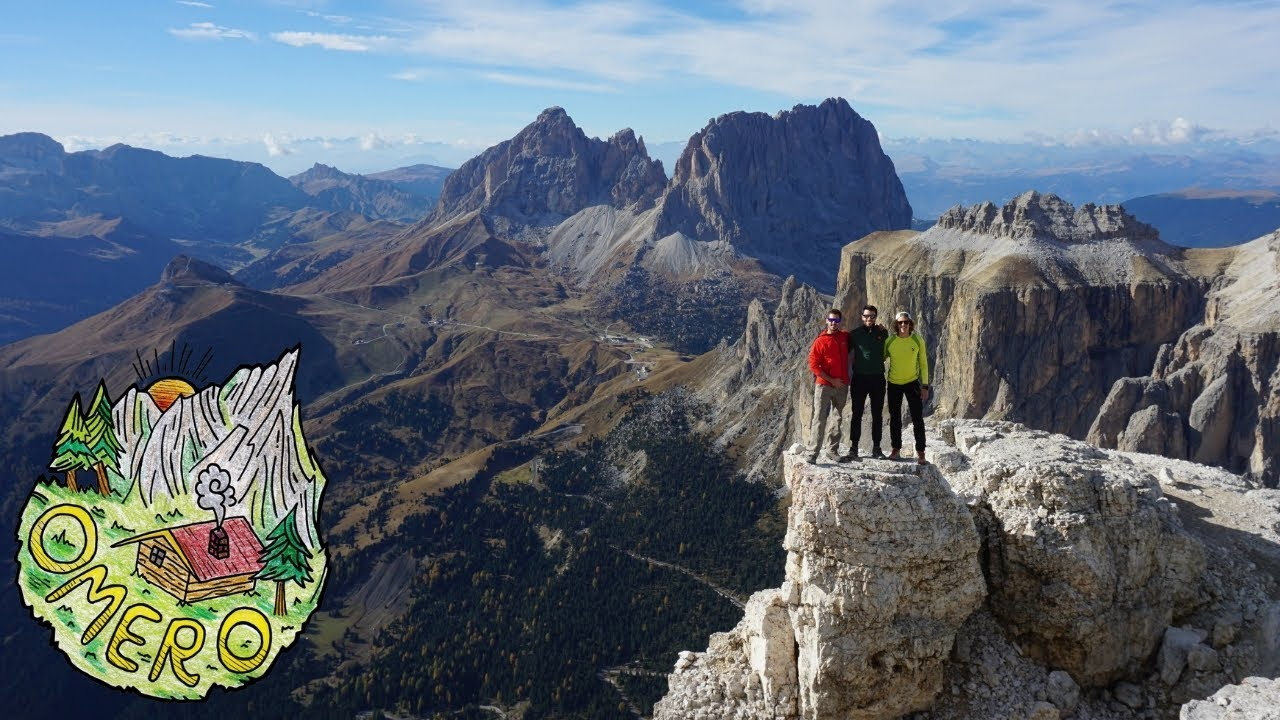 Sass Pordoi La Terrazza Delle Dolomiti Mt 2950 Slm Youtube