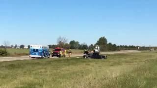 I-75 accident near Linwood Road