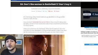 Anti SJW backlash may be hurting Battlefield 5