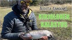 Aloita kalastus tänään - Kuinka aloitetaan kirjolohen kalastus - Paikat - Luvat - Välineet - Vinkit