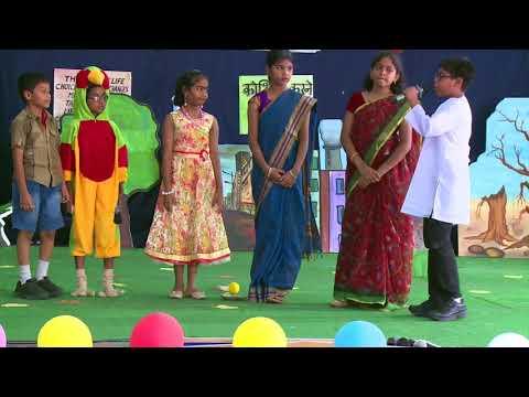 JUBILEE HILLS PUBLIC SCHOOL (JHPS) | UDAAN | PARENTDAY OF CLASS 4 GLIMPSES 2017