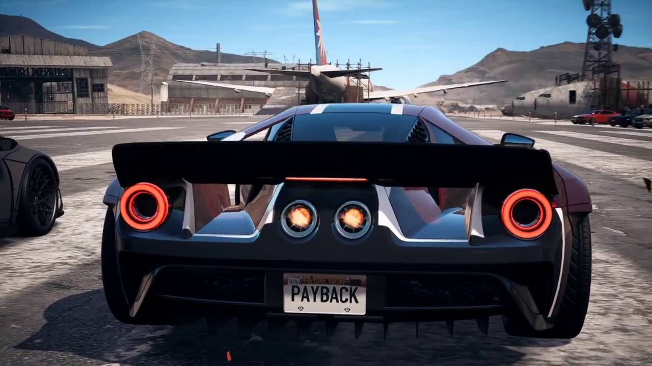 Need For Speed Payback Lv  Ford Gt Race Spec Nikki Will Make An Excellent Drafter In This