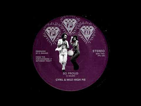 Cyril & Mile High Pie - So Proud [Peoples Potential Unlimited] 1985 Modern Soul Boogie 45