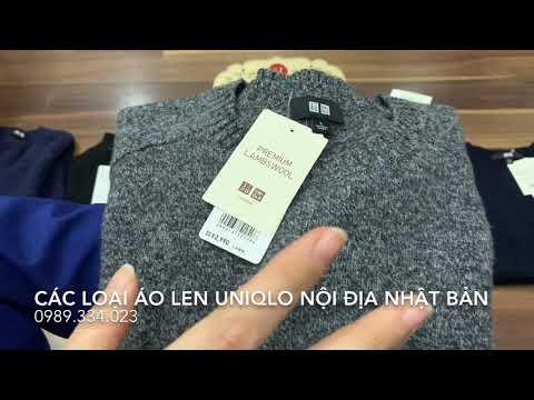 Review các loại áo len Uniqlo nội địa Nhật Bản (3tshophangnhat)