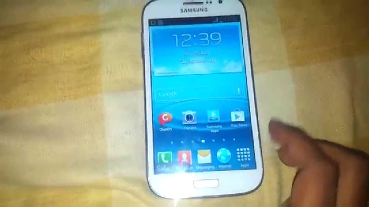 Samsung Galaxy Grand I9082 Remove Safe Mode - YouTube