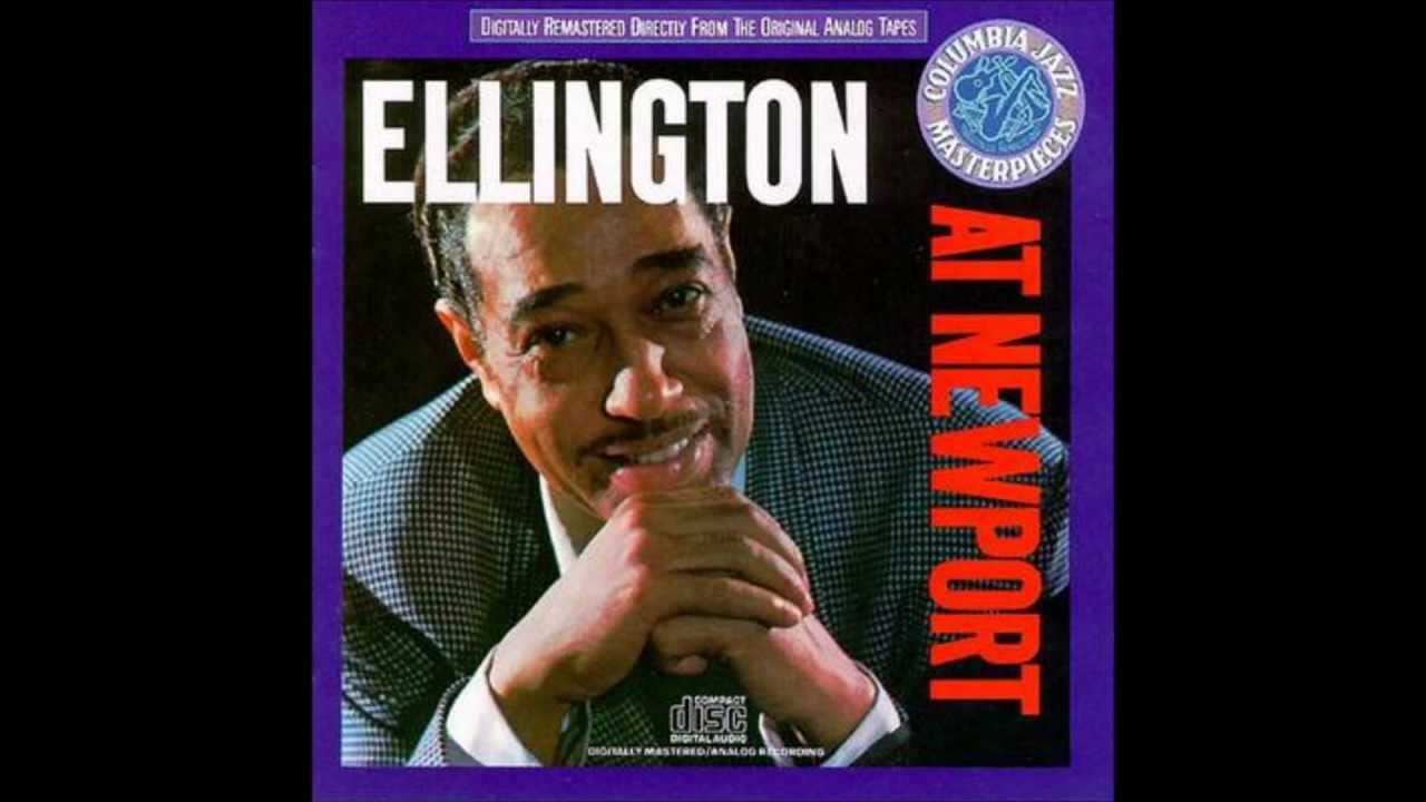 Duke ellington diminuendo and crescendo in blue chords for The ellington