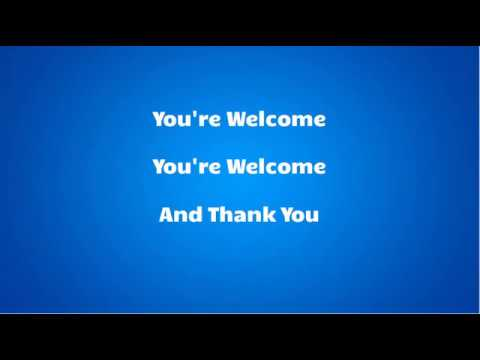 Dwayne Johnson - You're welcome Lyrics (Official video)(From