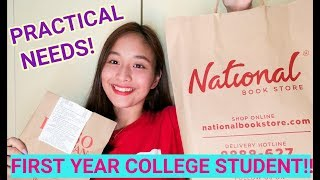 BACK TO SCHOOL HAUL! | Anne Lopez (Philippines)