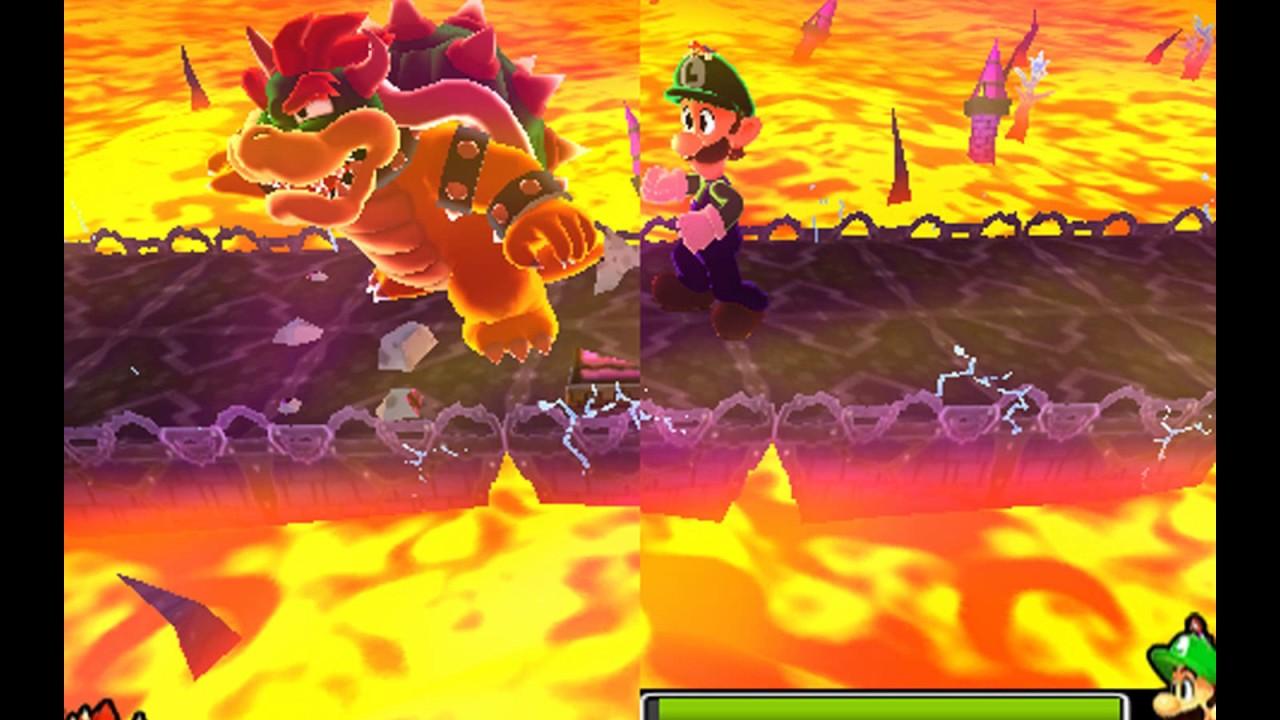 Mario Luigi Dream Team Boss 23 Giant Bowser
