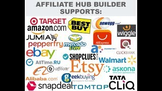 Automated wp plugin to import Products from ebay, Amazon ,Aliexpress,Walmart, Etsy.. - Affiliate Hub