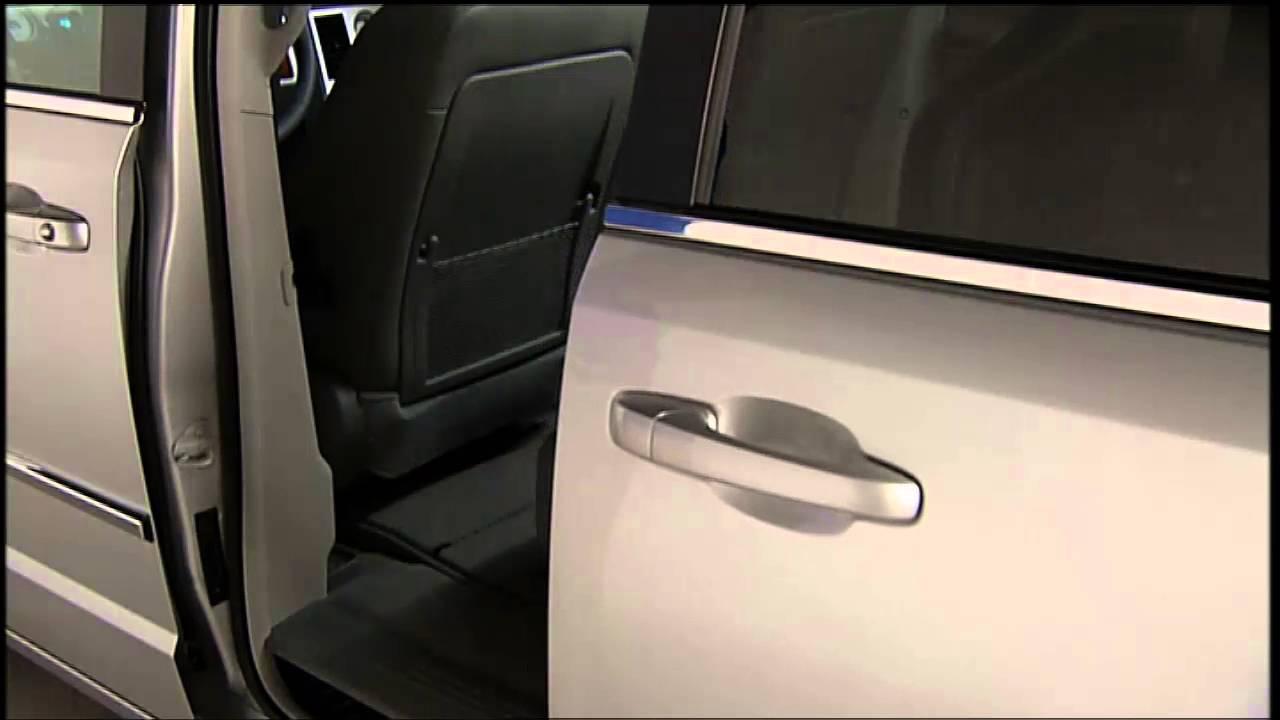 2016 Chrysler Town Amp Country Power Sliding Door Youtube