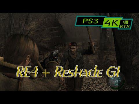 Resident Evil 4 / 4K PS3 Emulator RPCS3 / RTX 2080ti (Reshade GI)