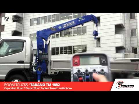 Boom Truck / Tadano TM 1882